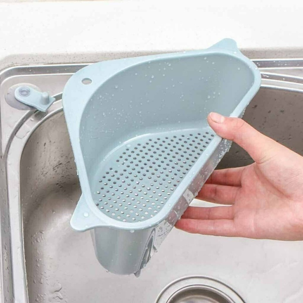 Basket Triangle Storage Holder Multifunctional Drain Shelf Kitchen Multi-purpose
