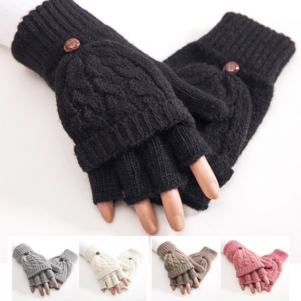 fingerlessglove, Winter, knittedglove, Thermal