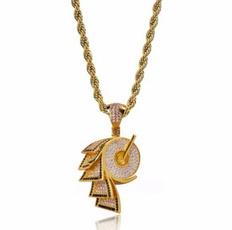 Party Necklace, necklaces for men, punk necklace, gold