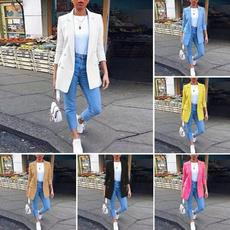 Jacket, plus, Fashion, Blazer