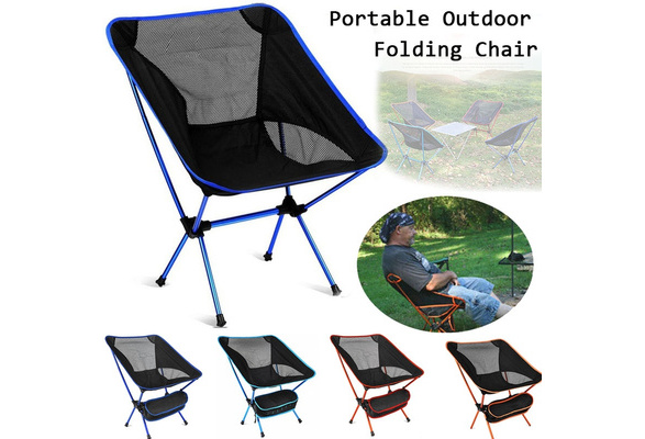 Shakespeare Portable Folding Outdoor Camping Chair Rucksack Seat Backpack Hiking