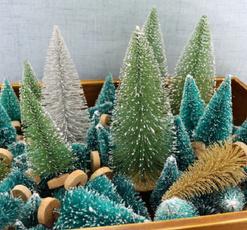 diydecoration, snowtree, Mini, christmastreewithsnow