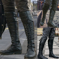 Shoes, laceupshoe, leather shoes, Knee High Boots