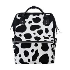 School, mombag, cow, Waterproof