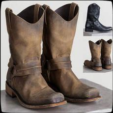 safetyshoe, knightboot, workshoe, brown
