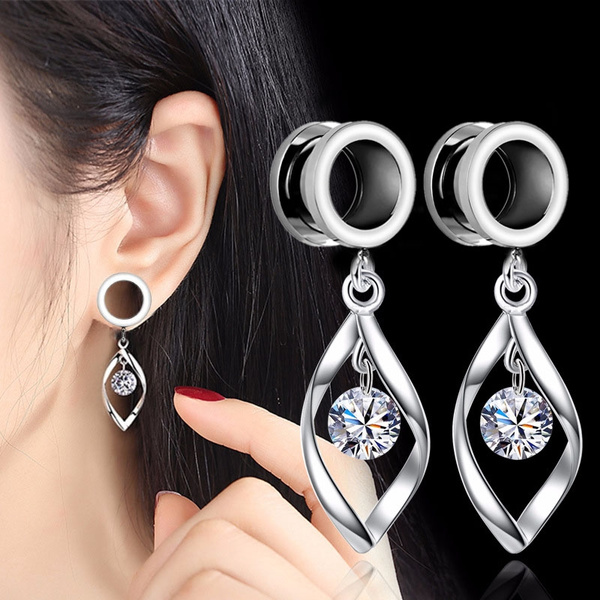 Steel, eartunnelplug, Stainless Steel, Jewelry