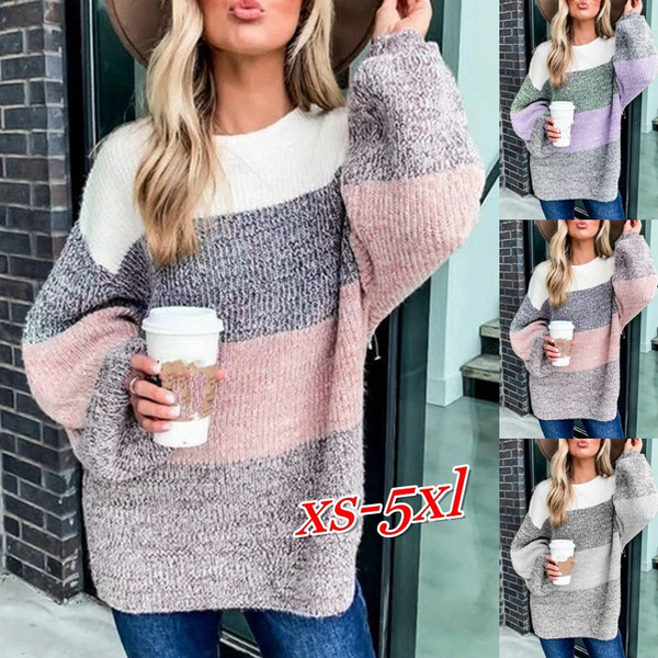 knitted, fashion women, Plus Size, sweaters for women