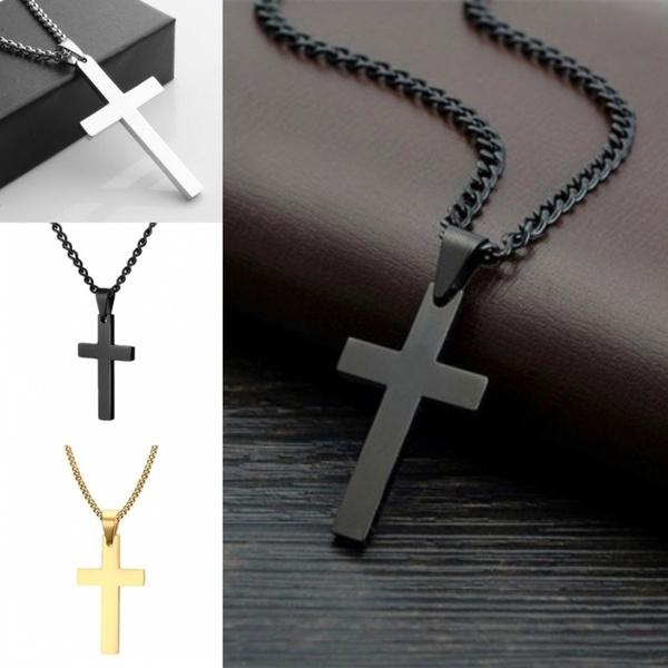 Steel, Chain Necklace, Men, Jewelry