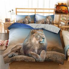 Home Decor, Animal, Bedding, lionbeddingset