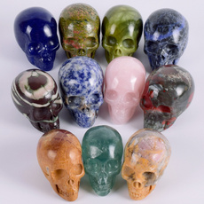 ghost, Stone, Natural, skull