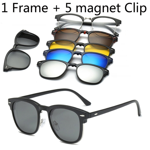 Polarized, cliponglasse, Sunglasses, myopiasunglasse
