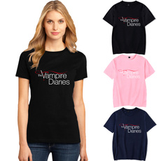 thevampirediariesshirt, Shorts, Vampire, Cotton T Shirt