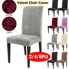 decoration, chaircover, velvet, hotelchaircover