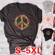 Summer, Fashion, short sleeves, peacelove