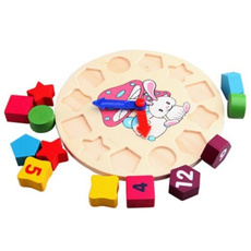 Educational, Toy, Colorful, Clock