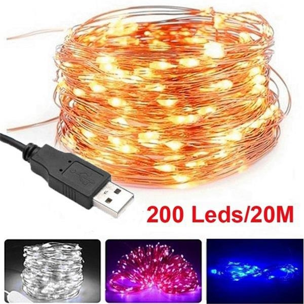 ledlightstring, ledcopperstringlight, christmasfairylight, led
