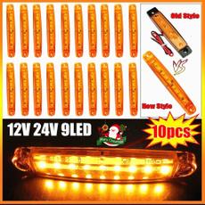 Truck, carsidemarkerlight, rv, led
