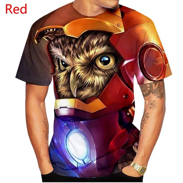 menfashionowlshirt, Owl, Fashion, 3dowlprintshirt