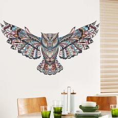 PVC wall stickers, Owl, Decor, Wall Art