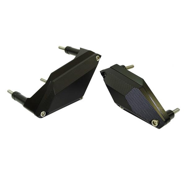 Black Easygo Engine Case Stator /& Ignition Cover Guard Crash Pad Sliders Protector for YAMAHA XJ-6 XJ6 XJ6F XJ6N Diversion FZ6R FZ6N FZ6 S2