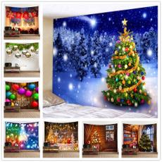 xmasdecor, christmastapestry, Wall Art, Home Decor