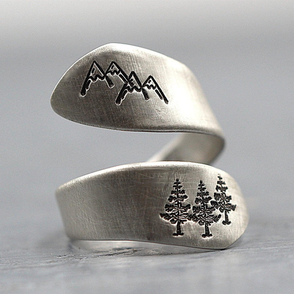 Mountain, Adjustable, Jewelry, Pattern