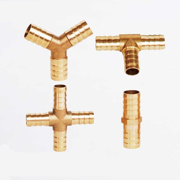 Brass Hose Tail Fitting Male Connector For Hose ID 6mm 8mm 10mm 13mm 20mm /& More