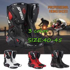 black, motocro, Waterproof, leather