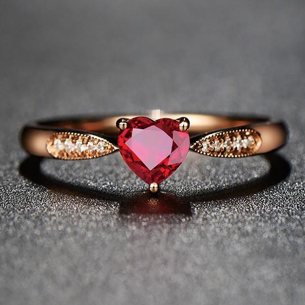 Heart, heart ring, wedding ring, gold