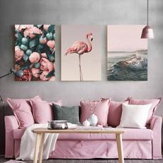 decoration, flamingo, Wall Art, Home Decor