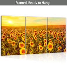 decoration, washroomdecor, Wall Art, Sunflowers