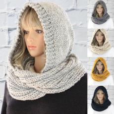 Fashion, Winter, winter scarf, knitted scarf women