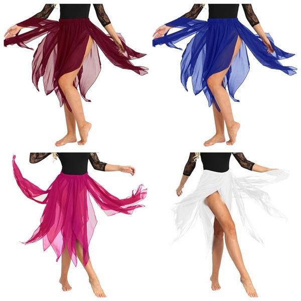 Women's Fashion, asymmetricdresse, chiffon, chiffon dress