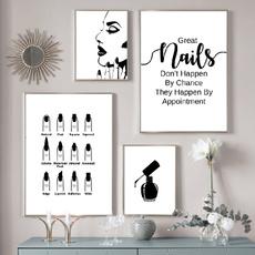 Nails, canvasprint, posters & prints, art
