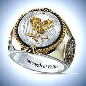 Sterling, ringsformen, amuletring, Stainless Steel