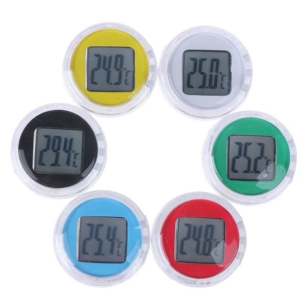 Mini, waterprooftemperaturemeter, waterproofthermomrter, waterproofmotorcycleminitemperature