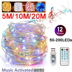 Remote Controls, Christmas, Waterproof, multicolorstringlight