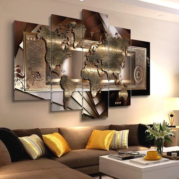 bedroom, canvasprint, painting, Wall Art