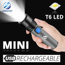 Flashlight, Mini, builtinbattery, Outdoor