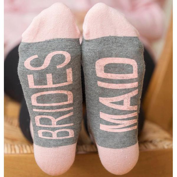 Womens Socks Wedding Party Socks Bridesmaid Bride Socks Casual Cotton Socks  Gift For Bridesmaid | Wish
