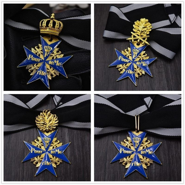 Blues, germany medal, Jewelry, gold