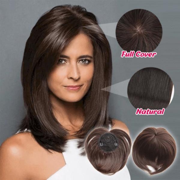 hairtopper, silky, Fiber, headdress