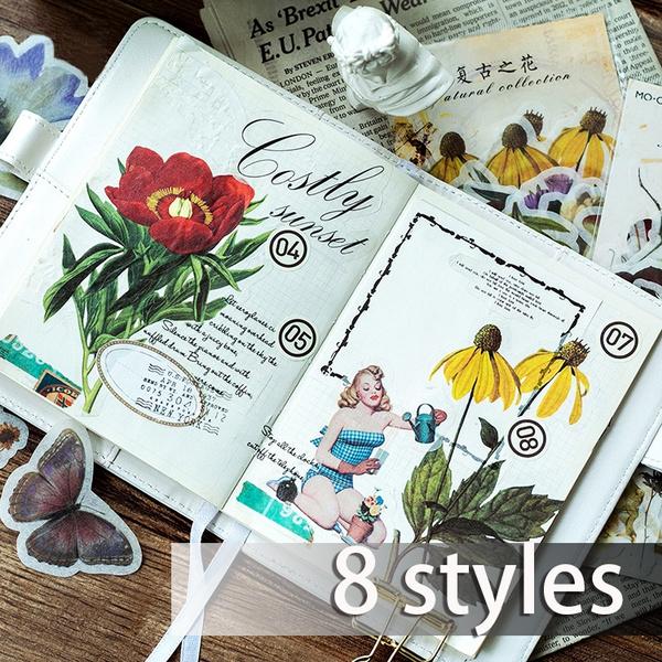 bulletjournal, stationerywishlist, Plants, stickerspack