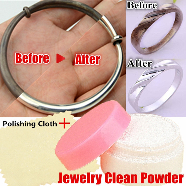 Silver Gold Jewelry Polishing Powder Cleaner Platinum Jewellery Cleaning Anti Tarnish Equipment Silversmithing Tool Wish