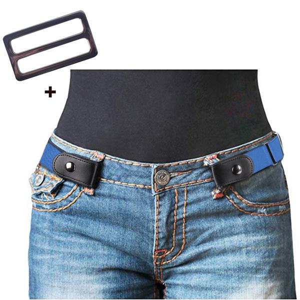 Adjustable, bucklefree, elastic belt, Elastic