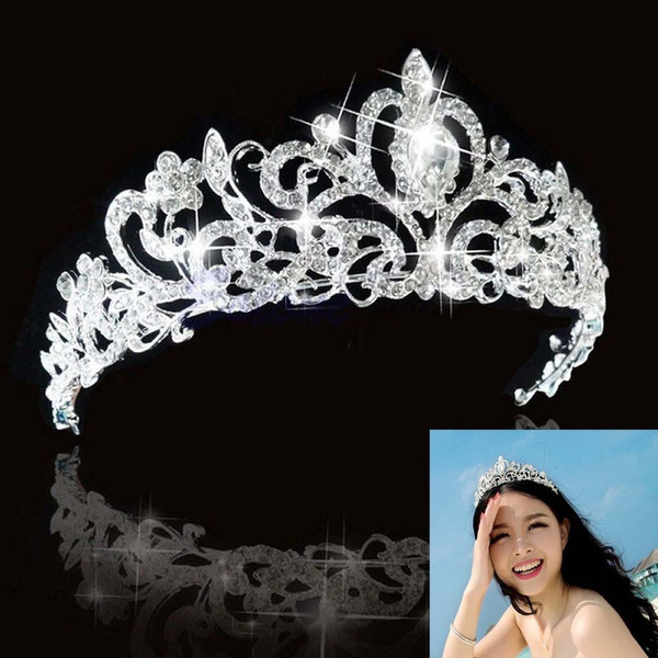 Crystal, rhinestonetiara, bridalheadwear, Wedding Accessories