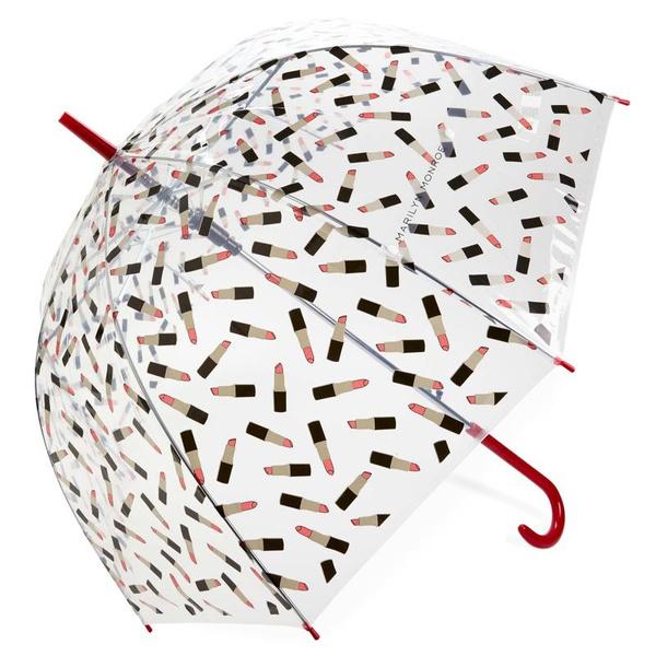 Pvc, Umbrella, Lipstick, printed