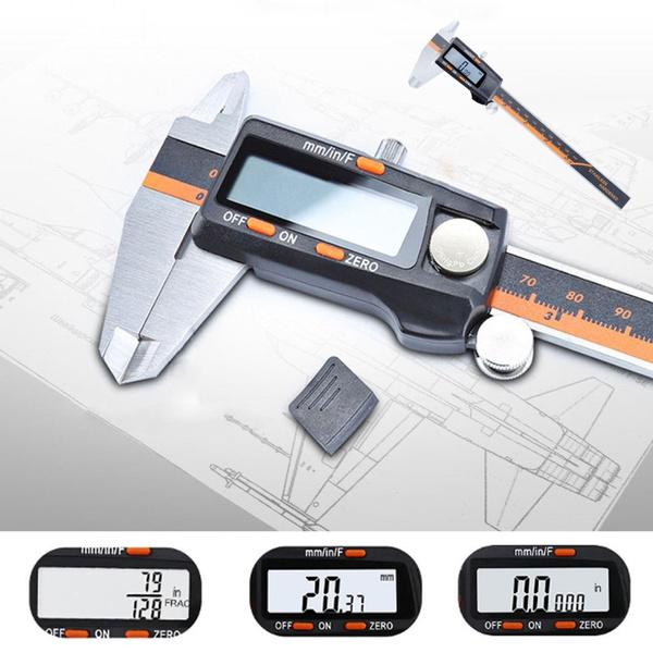 Steel, professionaltool, digitalmicrometer, Tool
