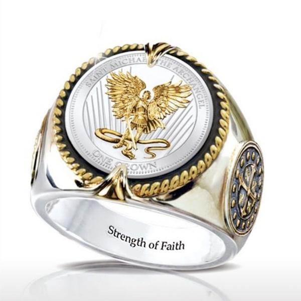 Sterling, ringsformen, Fashion, goldplated