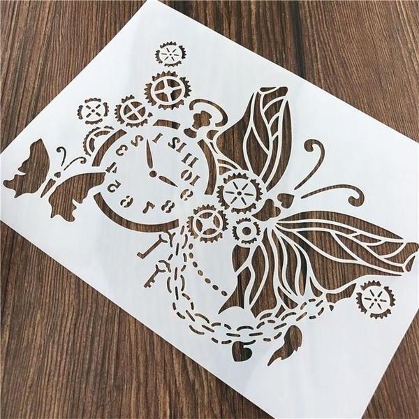 stencil, leaf, Wall, Paper